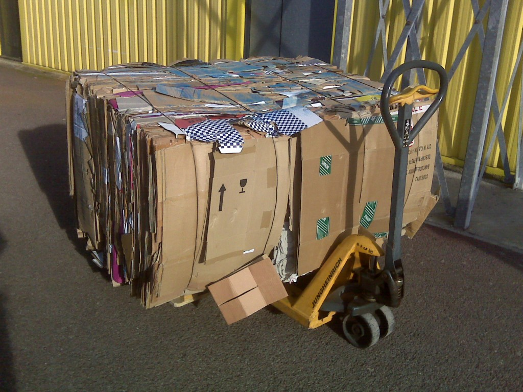 baled-cardboard